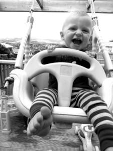 Cheeky little boy