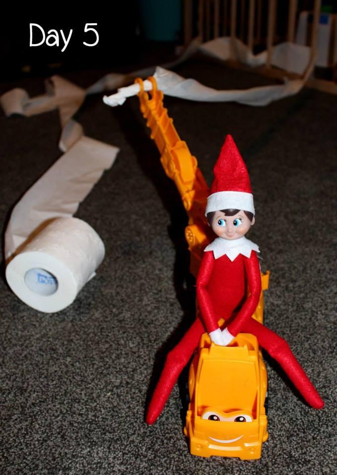 Elf on the Shelf Day 5