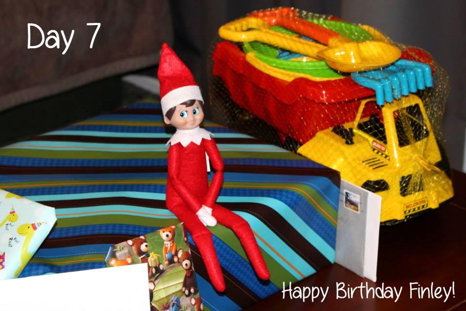 Elf on the Shelf Day 7