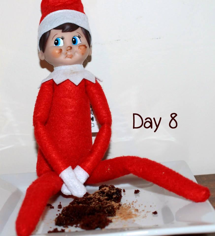 Elf on the Shelf Day 8